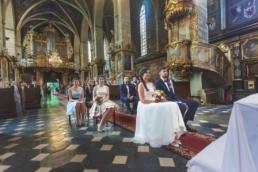 Piękny Ślub Katedra Bazylika w Sandomierzu Fotografia Ślubna Michał Mach
